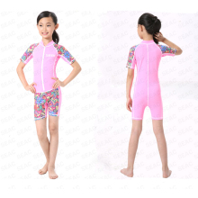 Children s New Outdoor Siamese Short - sleeved Diving Suit Swimming Jellyfish Sun Protection Clothing For