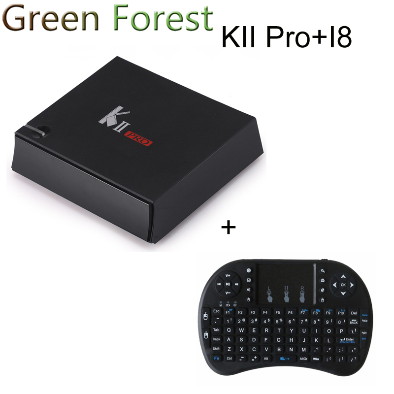 KII Pro TV Box 2G 16G Android 5.1 Amlogic S905 Quad-core 4K*2K 2.4G&5G Wifi Bluetooth 4.0 Androidtvbox mxiii pro android amlogic s812 quad core 2g 8g 5g wifi tv box