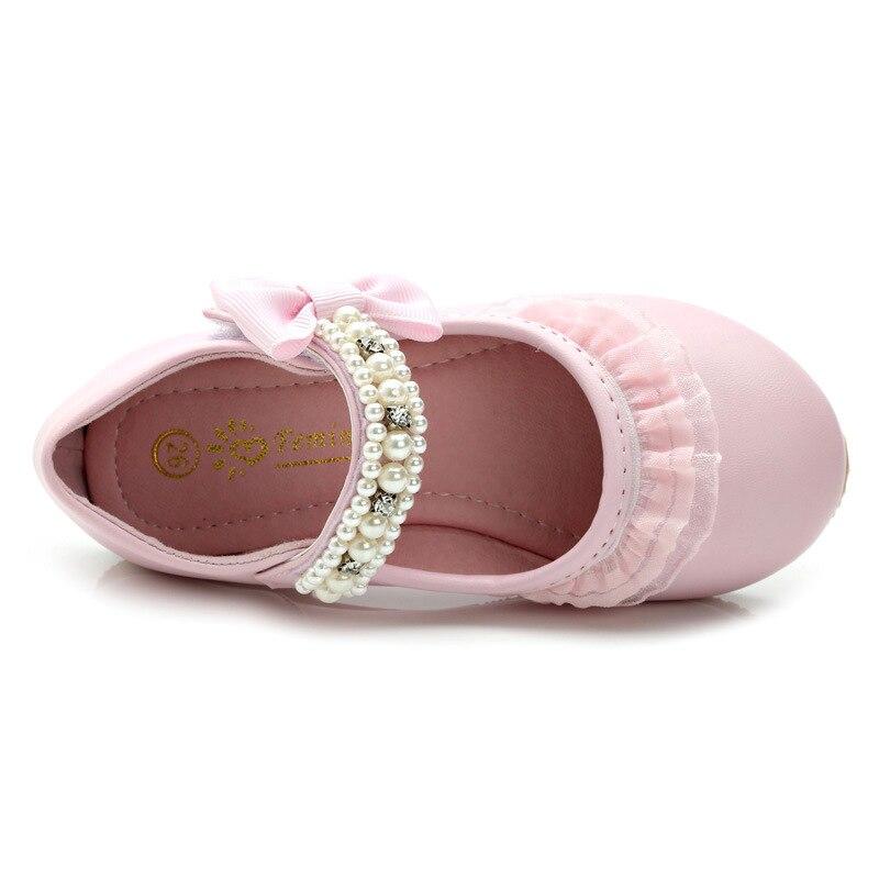 IYEAL Lente Kinderen Meisjes Lederen Platte Schoenen Mode Bloem Baby - Kinderschoenen - Foto 4