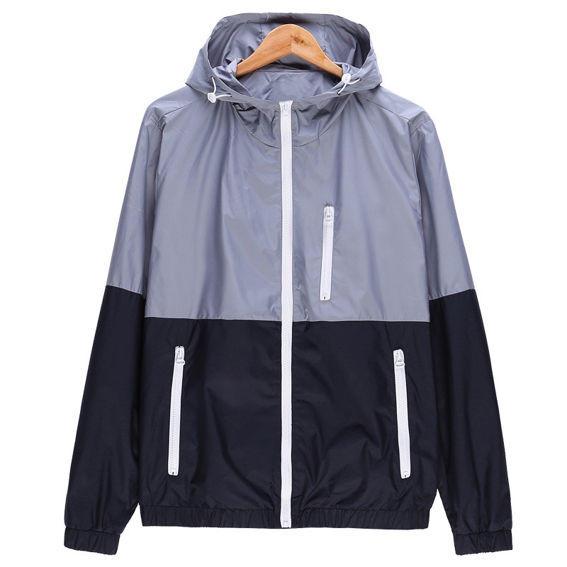 WOQN   Jackets   Women Spring New Fashion   Jacket   Womens Coat Hooded   Basic     Jacket   Casual Thin Windbreaker female   jacket   Outwear jk106