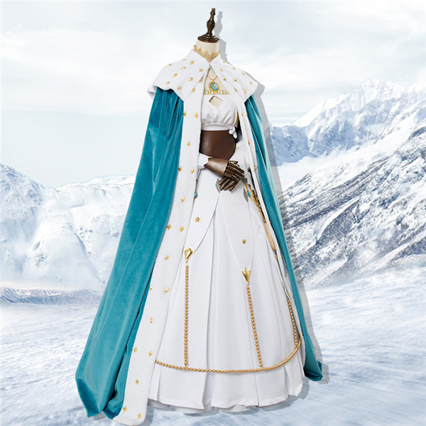 Clothing Shoes Accessories Unisex Anime Fate Grand Order Anastasia Princess Dress Blue Cloak Cosplay Costume Freedealsandoffers Com Pls email us if you need the costume, wig, shoes, weapon or other accessories of this character. deals