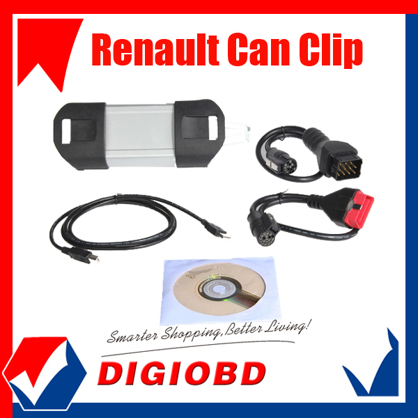 Professional auto CAN CLIP diagnostic tool 2013 Version V131 Renault Can Clip