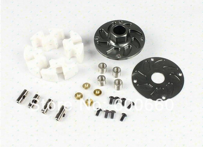 Baja engine parts CNC four shoes clutch set 95183 silver and titanium available