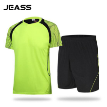 JEASS Men Football Jersey Custom Design Soccer Jersey Set Football Uniforms Kit for Running Training Tracksuit maillot de foot