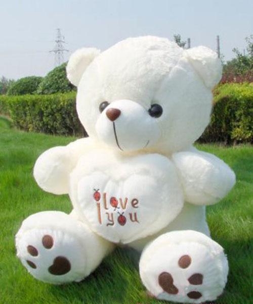 New Giant Plush Cute Teddy Bear Soft Gift For Valentine Day Birthday