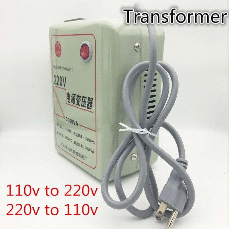 Véritable 500 W 1000 W 2000 W 3000 W transformateur 220 V à 110 V ou 110 v à 220 v convertisseur importé équipement dédié