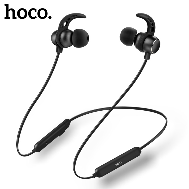 HOCO Sport Bluetooth Earphone IPX5 waterproof Wireless Headphones With Microphone Stereo surround Bass for iOS Android Headset hoco sport bluetooth earphone ipx5 waterproof wireless headphones with microphone stereo surround bass for ios android headset