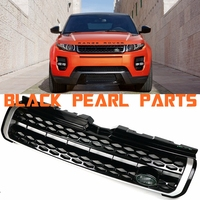 Car Auto Parts High Quality Tuning Front ABS Middle Grill Grille For Land Rover Range Rover Evoque Vehicle 2013 2018 Year