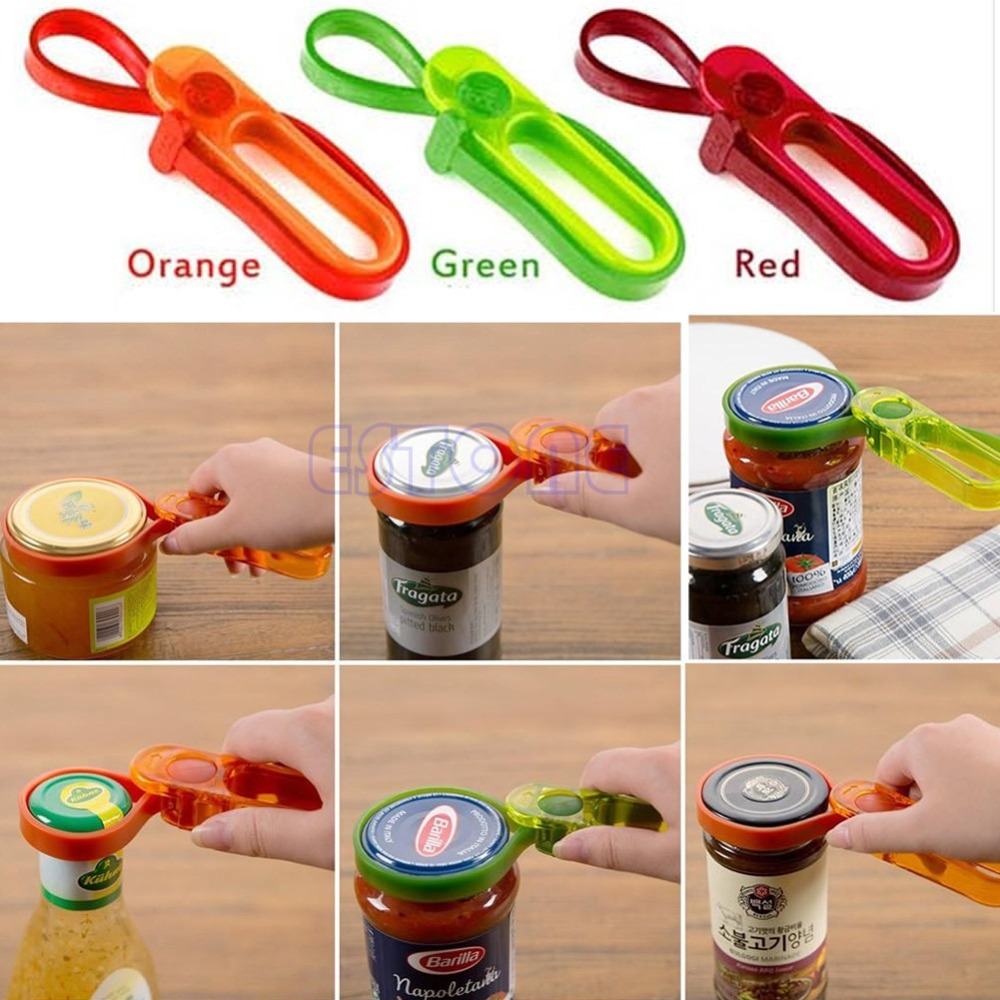 First Container Bottle Lid Can Tin Cap Handy Travel Kitchen Plastic Jars Opener