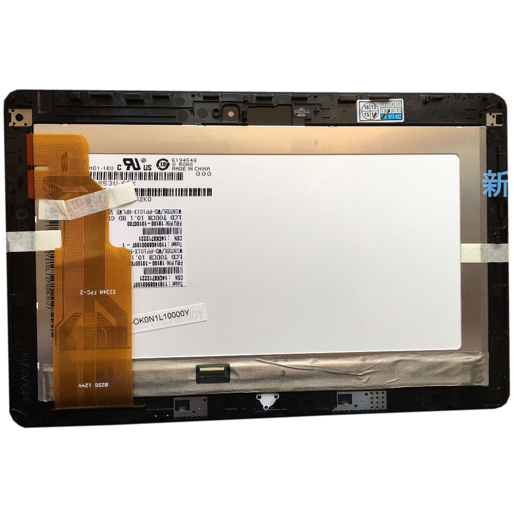 For ASUS VivoTab RT TF600T TF600 5234N FPC-2 LCD Touch Screen Digitizer Assembly
