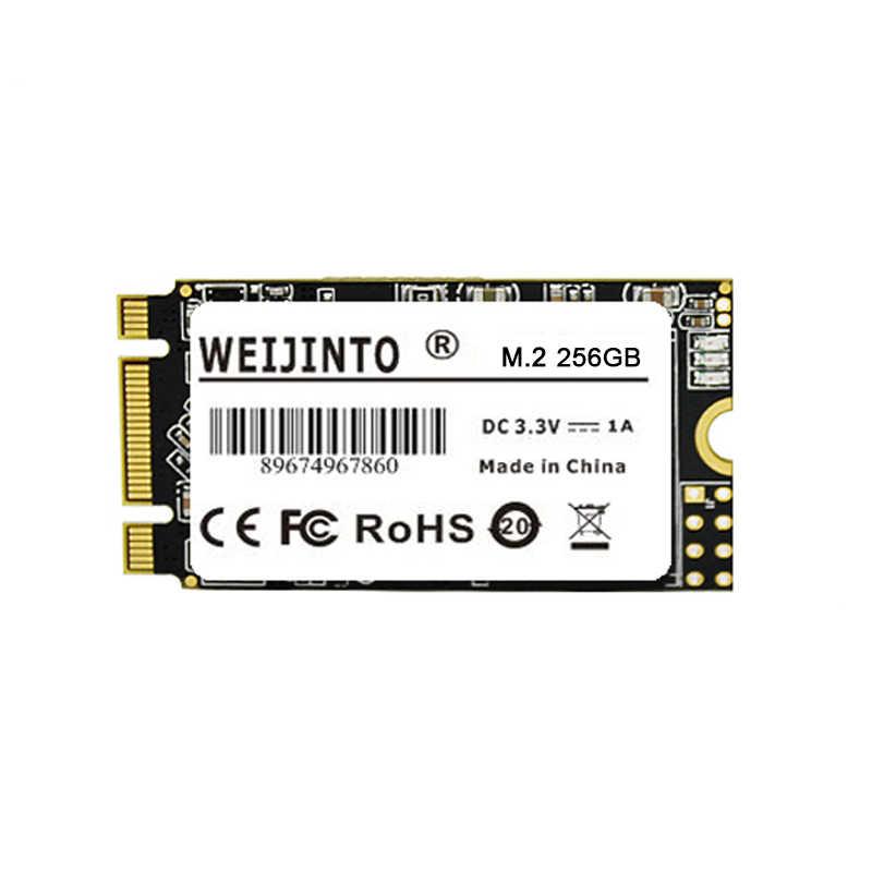 Weijinto M.2 SSD 2242 128GB 256 GB 512 GB 120GB 240GB 1TB HDD 2242 Mm NGFF SSD 360GB M2 Hard Drive untuk Laptop