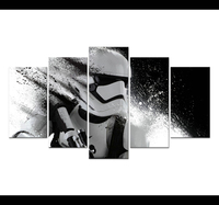 Posters And Prints Movie Star Wars 7 The Power Of Awakening Modular Picture Home Decor Home