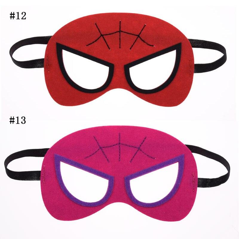 Homem aranha Spider Girl máscara Batman Superhero Cosplay Superman Avengers Thor crianças Natal Trajes de Máscaras Do Partido Do Disfarce