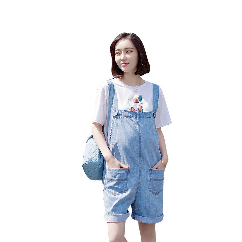 2017 autumn pregnant women suspenders maternity clothing and maternity bib pants pants maternity capris jumpsuit