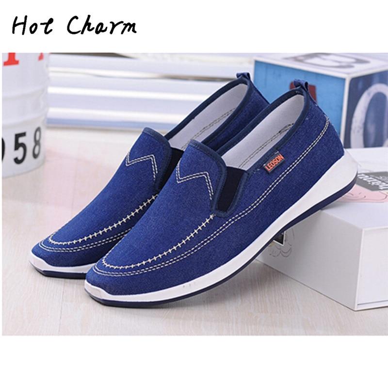2016 Hot Sale New Men shoes Summer Autumn Man's Canvas ...