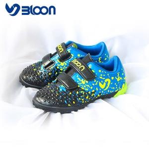 Image 3 - BLOON zapatos de fútbol para niños, calzado de fútbol para interiores, botas de fútbol deportivas, zapatillas de deporte para niñas y niños, sala de fútbol