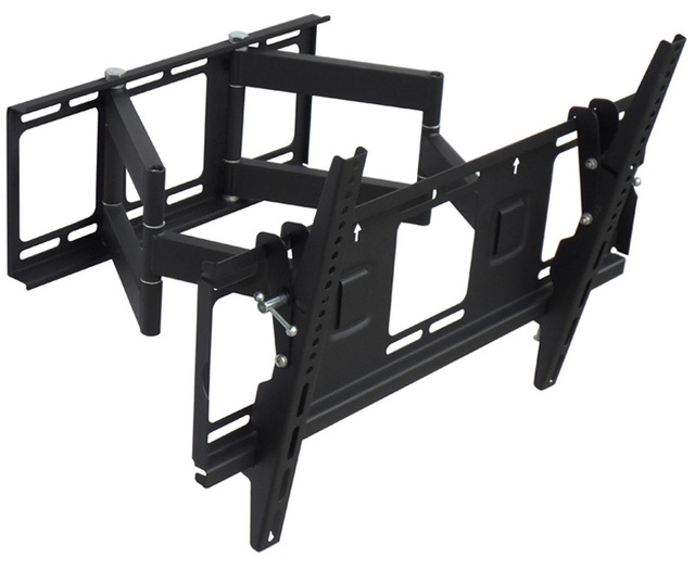 Heavy Duty Dual Arm 32 65 Inch Lcd Led Monitor Tv Wall Mount Full Motion