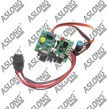 Promotional Aslong 6-30v 2.5a J809 speed controller governor 80w for dc motor free shipping new free shipping speed governor esd5200 speed controller esd5200