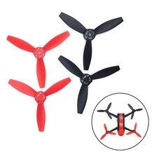 4 pçs/set Plástico Hélices Props Rotor para Parrot Bebop Drone Quadcopter 2 AN88