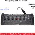 Большой диско-контроллер 384 каналов  DMX 384 контроллер  светодиодный дисплей для сценического освещения  DMX 512 консоль  DJ контроллер  оборудова...