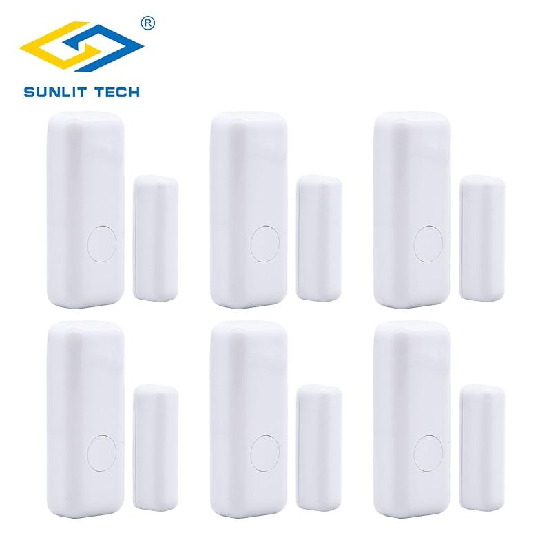 GSM Wireless Burglar Security Alarm System Home Door Window Sensor Detector Lot