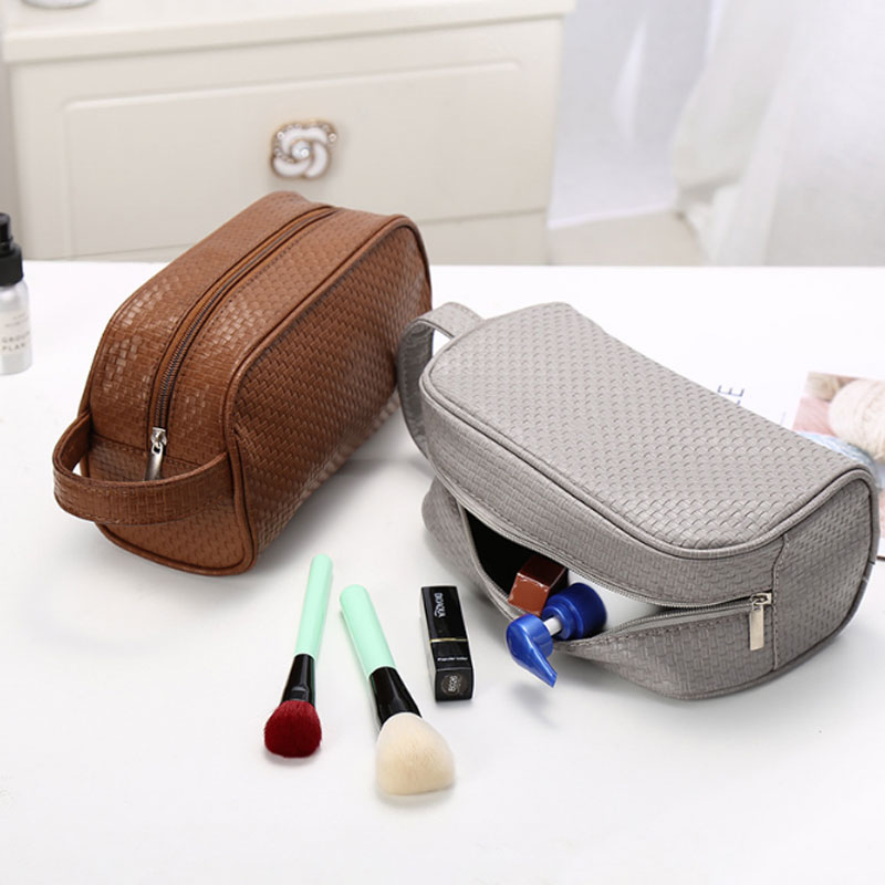 Women Men Portable Cosmetic Bags Solid Make Up Tools Organizer Beauty Toiletry Cases Travel Accessories Supplies Products solid color fashion cosmetic bag ladies portable travel necessary markup pouch storage beauty tools accessories supply products