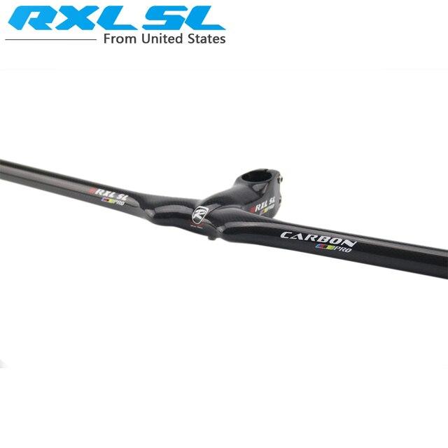 Guidon de vélo RXL SL guidon de vélo carbone vtt en Fiber de carbone noir 601-700mm 3 K brillant guidon intégré vtt