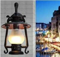 Europese outdoor lichten regen muur outdoor tuinverlichting outdoor waterdichte wandlampen balkon lichten gratis