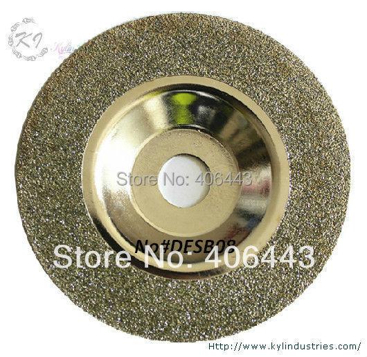 """4 """"galvanizované kotouče na broušení diamantových pohárků 100 mm pro leštění misek pro skleněnou keramiku a lapidary"""