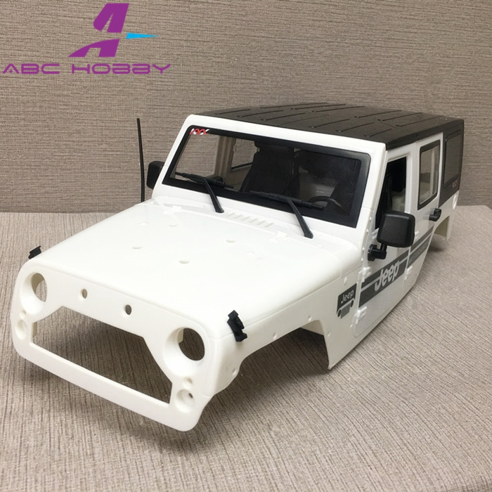 1/10 Hard Body For RC Jeep Wrangler W/Interior 313mm