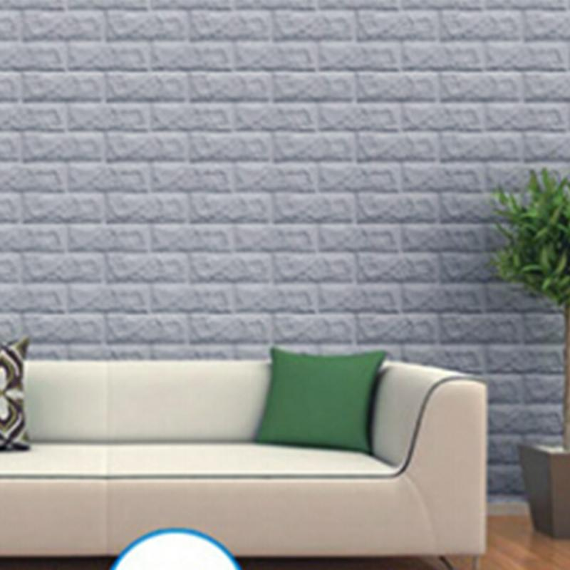 3d brick waterproof self adhesive diy wall sticker panels board