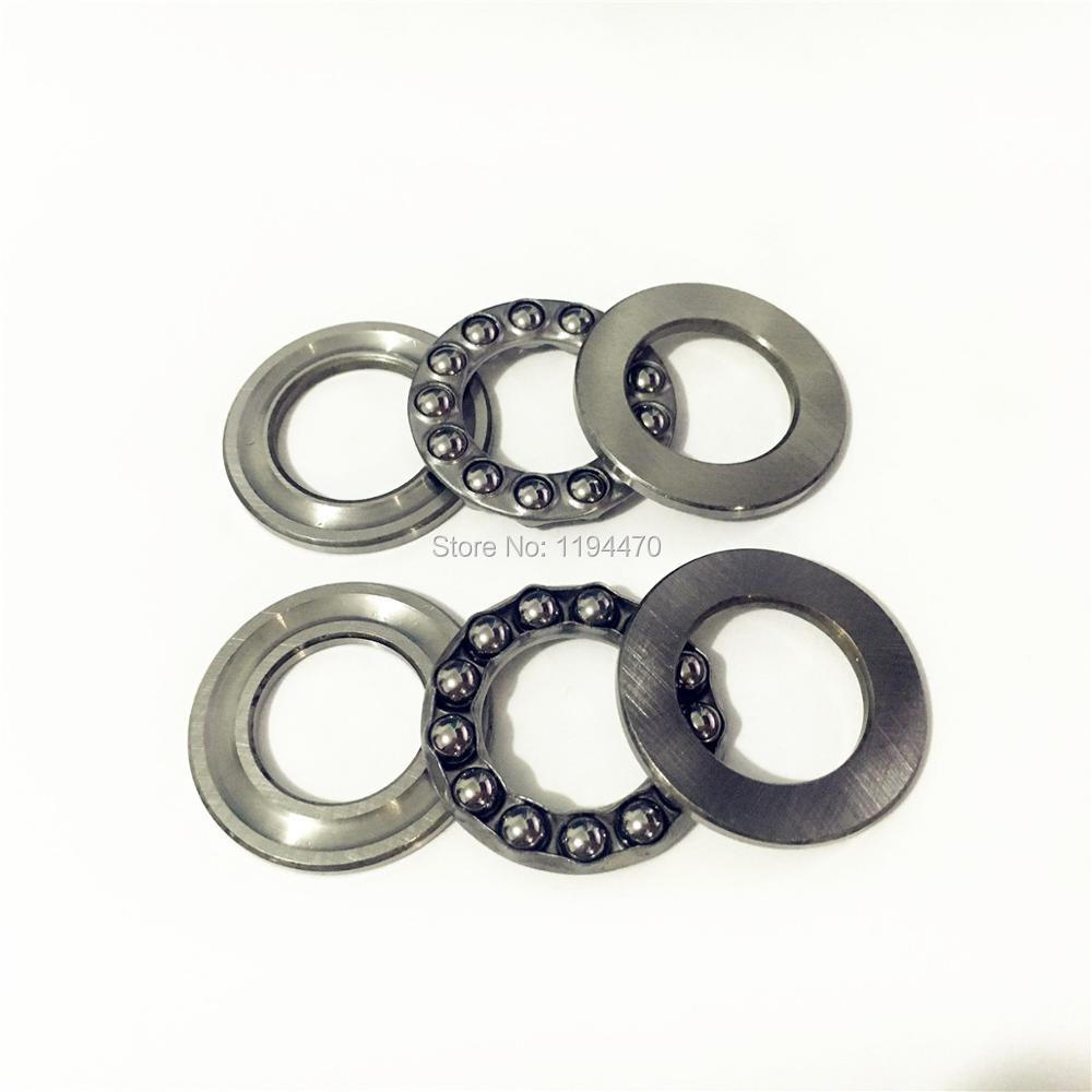 1pcs 51100 51101 51102 51103 51104 51105 51106 51107 Roll Axial Ball Thrust Bearing 3-Parts Ball Bearing
