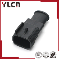 High Quality 2pin male Sensor Cable housing Connector  Plug|plug connector|cable 2pin|2pin cable -