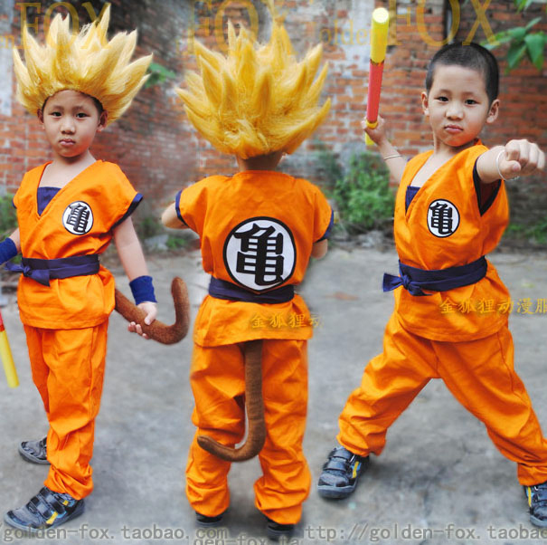 Halloween Child Dragon Ball Z GoKu Letter GUI/WU Cosplay Costume Fancy Party clothing for  sc 1 st  AliExpress.com & Halloween Child Dragon Ball Z GoKu Letter GUI/WU Cosplay Costume ...
