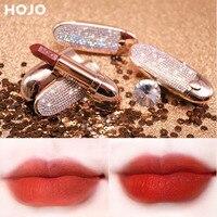 HOJO бренд блестящая Звезда небо помада рубинового цвета флип с зеркалом
