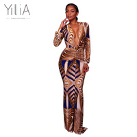 Yilia 2017 Women Elegant Vintage Peacock Feather Print Retro Short Cap Sleeve Vestidos Casual Party Evening