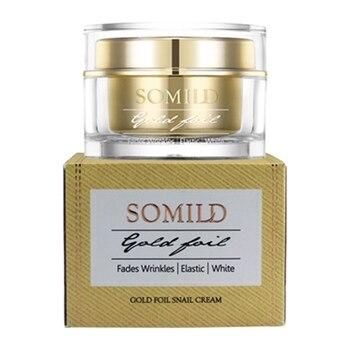 24K Gold Face Snail Cream Serum Anti Aging Skin Care Wrinkle Blemish Remove Cosmetics Eye Cream Facial Whitening фото