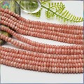 Stock Sale Natural Rhodochrosite Loose Rondelle Beads 5x3mm