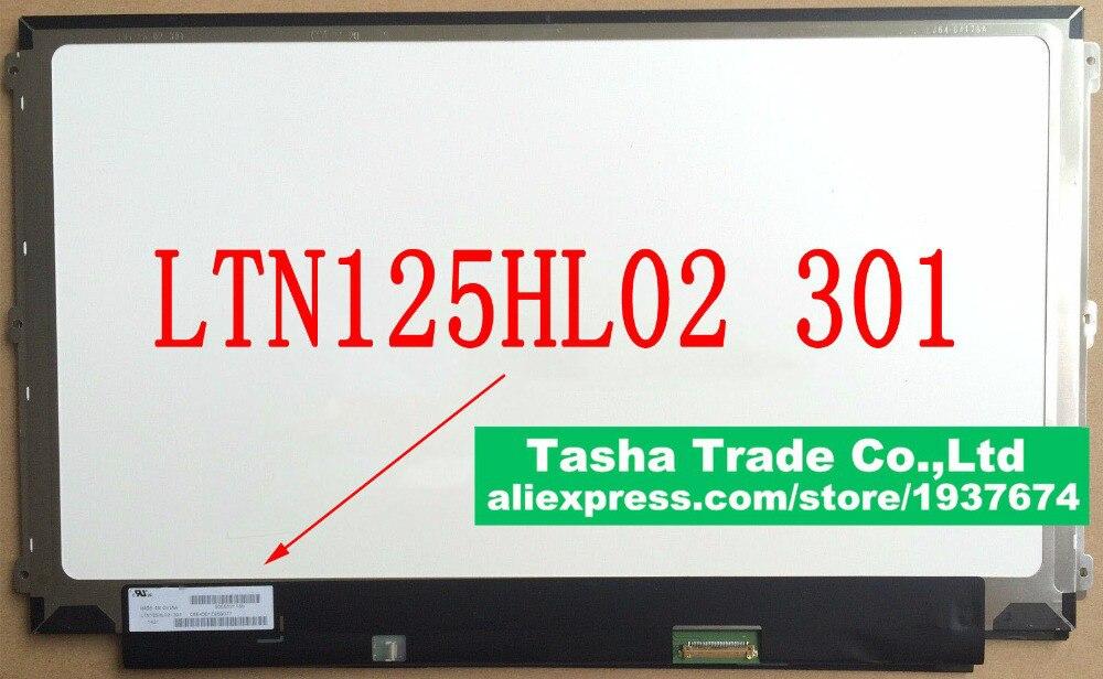 LTN125HL02 301 LTN125HL02-301 FHD 1920*1080 IPS Laptop LCD Screen LED Display Panel eDP 30 Pin ltn125hl02 301 ltn125hl02 301 fit lp125wf2 spb3 edp 30 pin lcd led screen panel