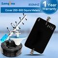 Sanqino Signal Booster Celular Repetidor 850 MHz Yagi Antena Sinal de Telefone Celular Impulsionador GSM UMTS Amplificador NOVO MODELO