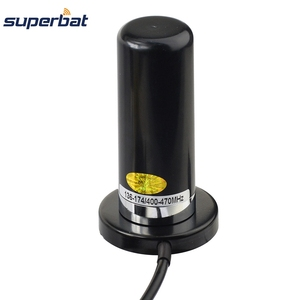 Image 2 - Superbat Vehicle/Car Mobile Radio VHF/UHF Dual Band Antenna 9cm Base Magnetic Mount BNC Plug 5M Cable for BC125AT Scanner
