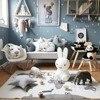 140 90CM Child Game Mats Baby Play Mat Kids Wourld Map Blankets Photography Props Boy Girl