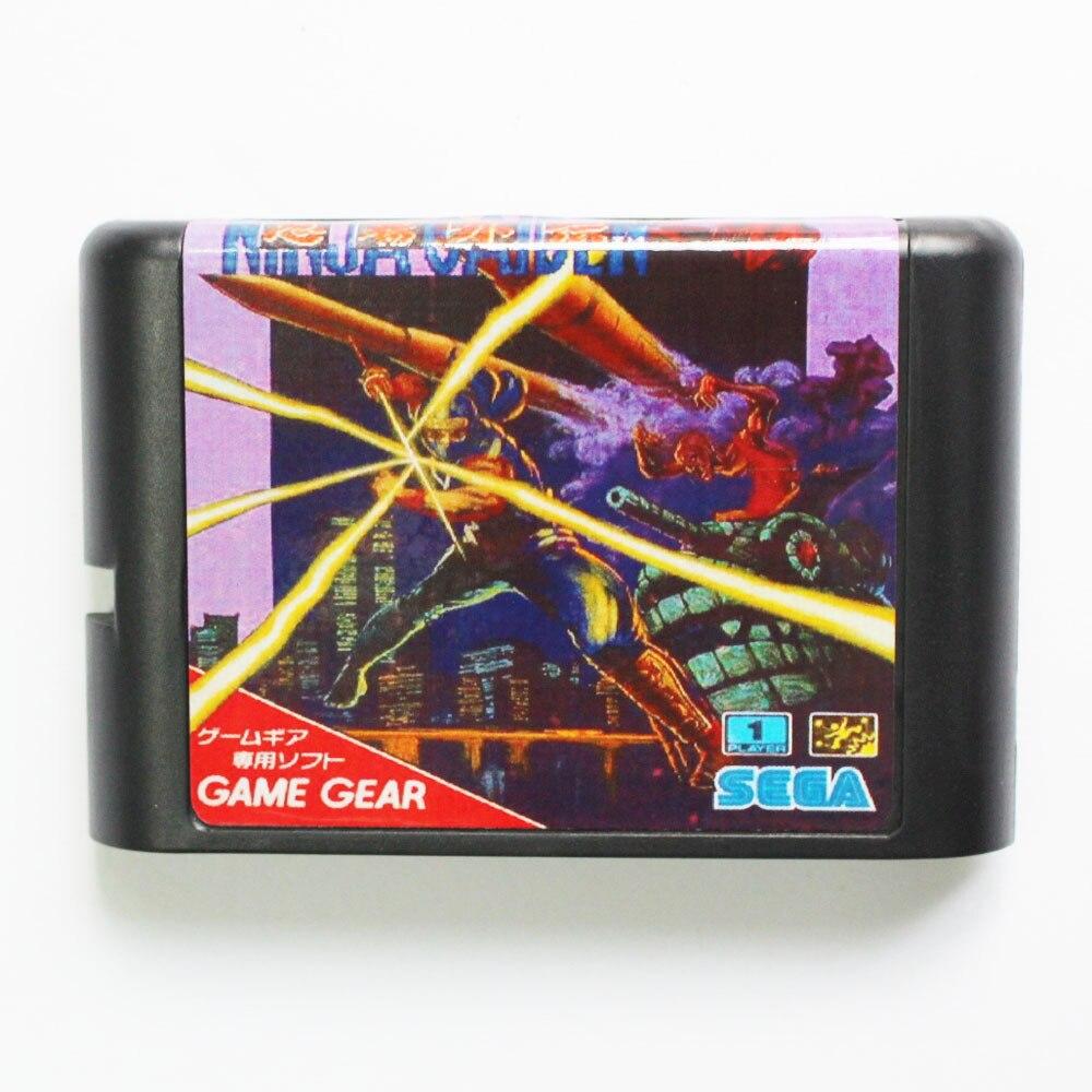 Ninja Gaiden Game Cartridge Newest 16 bit Game Card For Sega Mega Drive / Genesis System