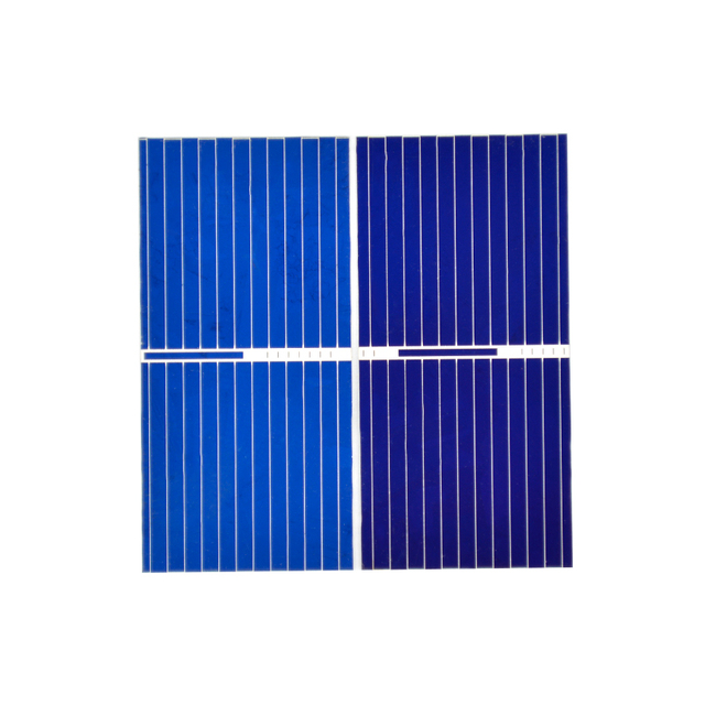 Aoshike 100pcs Mnin 39*19MM solar panel for DIY solar cell DIY cell phone charging