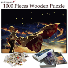 MOMEMO Naruto Jigsaw Puzzles 1000 Pieces for Adults Wooden Cartoon Uzumaki Anime Puzzle Games Toys Gifts