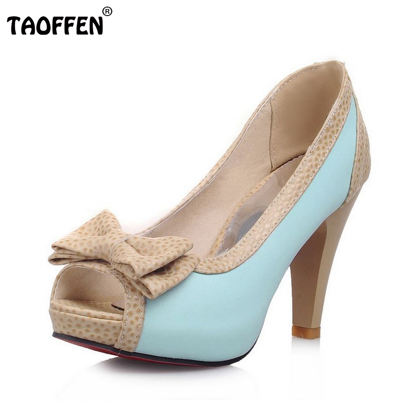 0e9a1afe9dc women platform high heel shoes sexy quality spring fashion heeled footwear  brand pumps heels shoes size 32-43 P16331