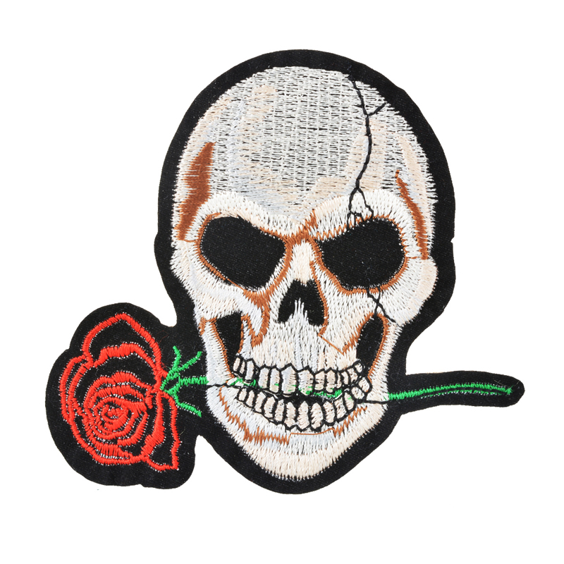 Embroidery patches for shirts makaroka