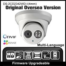 HIKVISION DS-2CD2342WD-I(4mm) Original English Version Security Camera 4MP surveillance CCTV Dome IPC Mini Camera Outdoor HD
