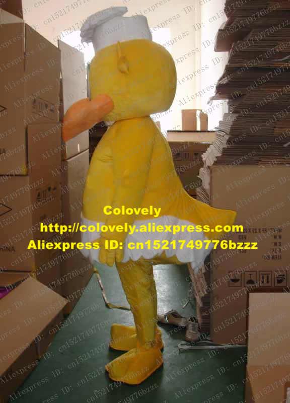 Lucu Kuning Koki Ayam Ayam Cewek Biddy Burung Fledging Burung Maskot Kostum Mascotte dengan Jeruk Besar Mulut No 487 Gratis kapal