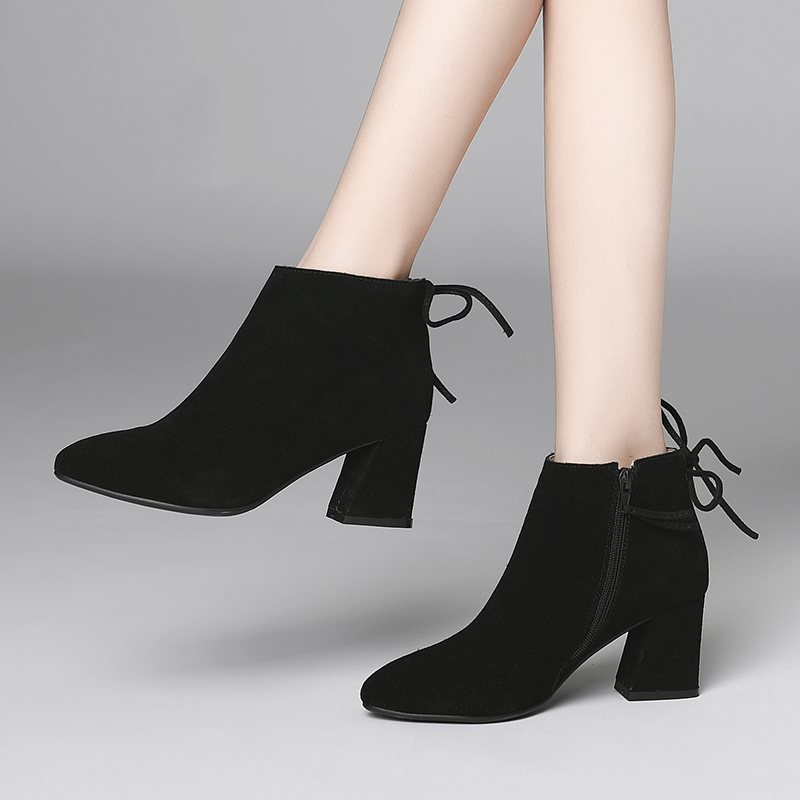 2018 Autumn and Winter New Bare Boots